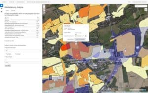 Mediaplanung Analyse Karte