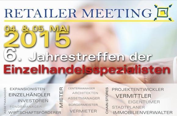 Flyer Standortexpertise beim 6. Retailer Meeting in Düsseldorf