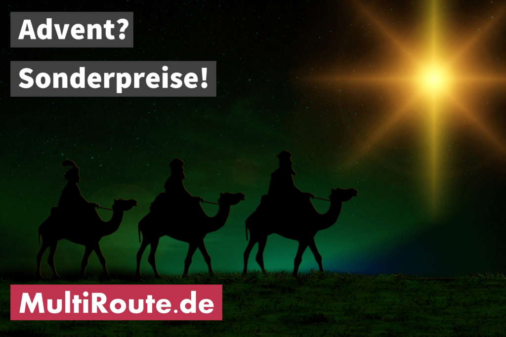 Advent-Sonderpreise MultiRoute